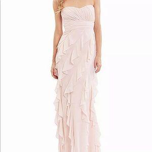 NWT! Designer Badgley Mischka Pink Gown / Dress